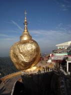 Asisbiz Mon State Kyaiktiyo Pagoda Golden Rock morning views 2009 20