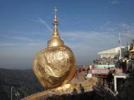 Asisbiz Mon State Kyaiktiyo Pagoda Golden Rock morning views 2009 22