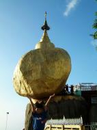 Asisbiz Myanmar Mon State Kyaiktiyo Pagoda Golden Rock 06