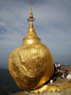Asisbiz Myanmar Mon State Kyaiktiyo Pagoda Golden Rock 2009 02