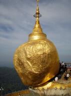 Asisbiz Myanmar Mon State Kyaiktiyo Pagoda Golden Rock 2009 03