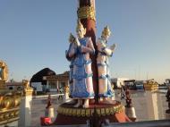 Asisbiz Myanmar Mon State Kyaiktiyo pagoda court yard guardians Dec 2009 04