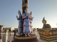 Asisbiz Myanmar Mon State Kyaiktiyo pagoda court yard guardians Dec 2009 06