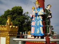 Asisbiz Myanmar Mon State Kyaiktiyo pagoda court yard guardians Dec 2009 11