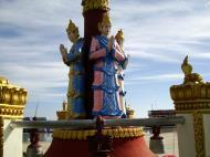 Asisbiz Myanmar Mon State Kyaiktiyo pagoda court yard guardians Dec 2009 12