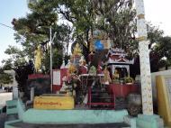 Asisbiz Myanmar Mon State Kyaiktiyo pagoda court yard shrines Dec 2009 01