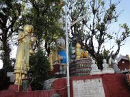 Asisbiz Myanmar Mon State Kyaiktiyo pagoda court yard shrines Dec 2009 03