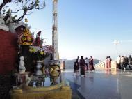 Asisbiz Myanmar Mon State Kyaiktiyo pagoda court yard shrines Dec 2009 07