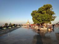 Asisbiz Myanmar Mon State Kyaiktiyo pagoda main patio Dec 2009 06