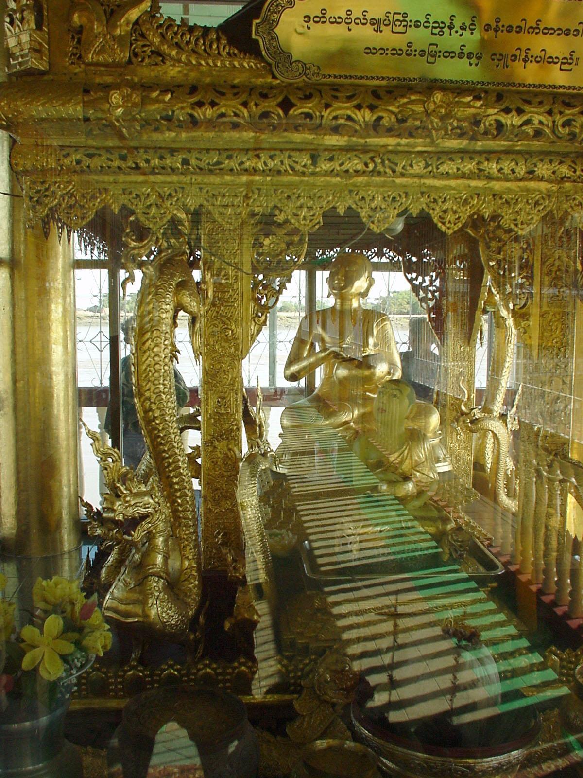 Thanlyin Kyauktan Ye Le Pagoda Dec 2000 03