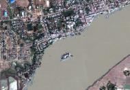 Asisbiz Satellite image Thanlyin Kyauktan Ye Le pagoda island 01