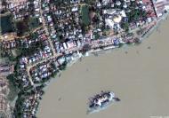 Asisbiz Satellite image Thanlyin Kyauktan Ye Le pagoda island 02