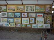 Asisbiz Driving to Mandalay various local paintings Dec 2000 01