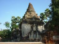 Asisbiz Driving to Pagan various pagodas Dec 2000 04