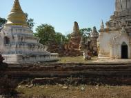 Asisbiz Driving to Pagan various pagodas Dec 2000 12
