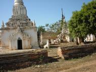 Asisbiz Driving to Pagan various pagodas Dec 2000 13
