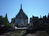 Asisbiz Driving to Pagan various pagodas Dec 2000 16