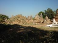 Asisbiz Driving to Pagan various pagodas Dec 2000 17