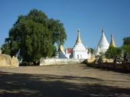 Asisbiz Driving to Pagan various pagodas Dec 2000 23