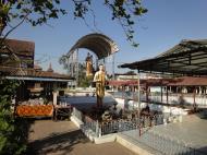 Asisbiz Meilamu Pagoda assorted Buddha statues Yangon Myanmar 01