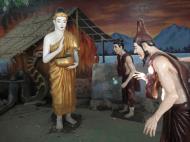 Asisbiz Meilamu Pagoda assorted Buddha statues Yangon Myanmar 02