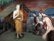 Asisbiz Meilamu Pagoda assorted Buddha statues Yangon Myanmar 03