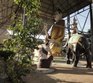 Asisbiz Meilamu Pagoda assorted Buddha statues Yangon Myanmar 05
