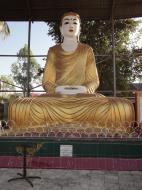 Asisbiz Meilamu Pagoda assorted Buddha statues Yangon Myanmar 08