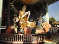 Asisbiz Meilamu Pagoda assorted Buddha statues Yangon Myanmar 11