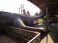 Asisbiz Meilamu Pagoda giant crocodile Yangon Myanmar 01