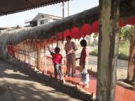Asisbiz Meilamu Pagoda giant crocodile Yangon Myanmar 03