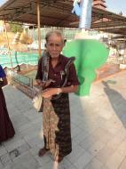Asisbiz Meilamu Pagoda local snake handler Yangon Myanmar 01