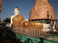 Asisbiz Meilamu Pagoda reclining Buddha Yangon Myanmar 01
