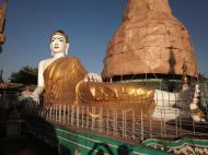 Asisbiz Meilamu Pagoda reclining Buddha Yangon Myanmar 02