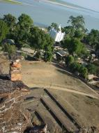 Asisbiz Mingun Pagoda views of the Ayeyarwaddy river Dec 2000 04
