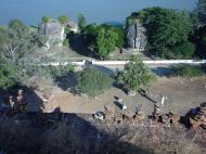 Asisbiz Mingun Pagoda views of the Ayeyarwaddy river Dec 2000 06