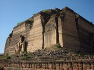 Asisbiz Mingun Pahtodawgyi or Mingun Pagoda Dec 2000 03