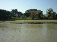 Asisbiz Mingun Pahtodawgyi or Mingun Pagoda seen from Ayeyarwaddy 04