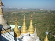 Asisbiz Mandalay Mount Popa Main Stupa Dec 2000 02