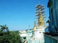 Asisbiz Mandalay Mount Popa Main Stupa Nov 2004 03