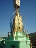 Asisbiz Mandalay Mount Popa Main Stupa Nov 2004 06