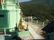 Asisbiz Mandalay Mount Popa Main Stupa Nov 2004 07