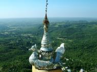 Asisbiz Mandalay Mount Popa stupa stupa decorations Nov 2004 09