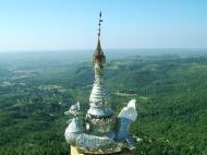 Asisbiz Mandalay Mount Popa stupa stupa decorations Nov 2004 10