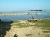 Asisbiz Harvested Bamboo on its way market via the Ayeyarwaddy river 10