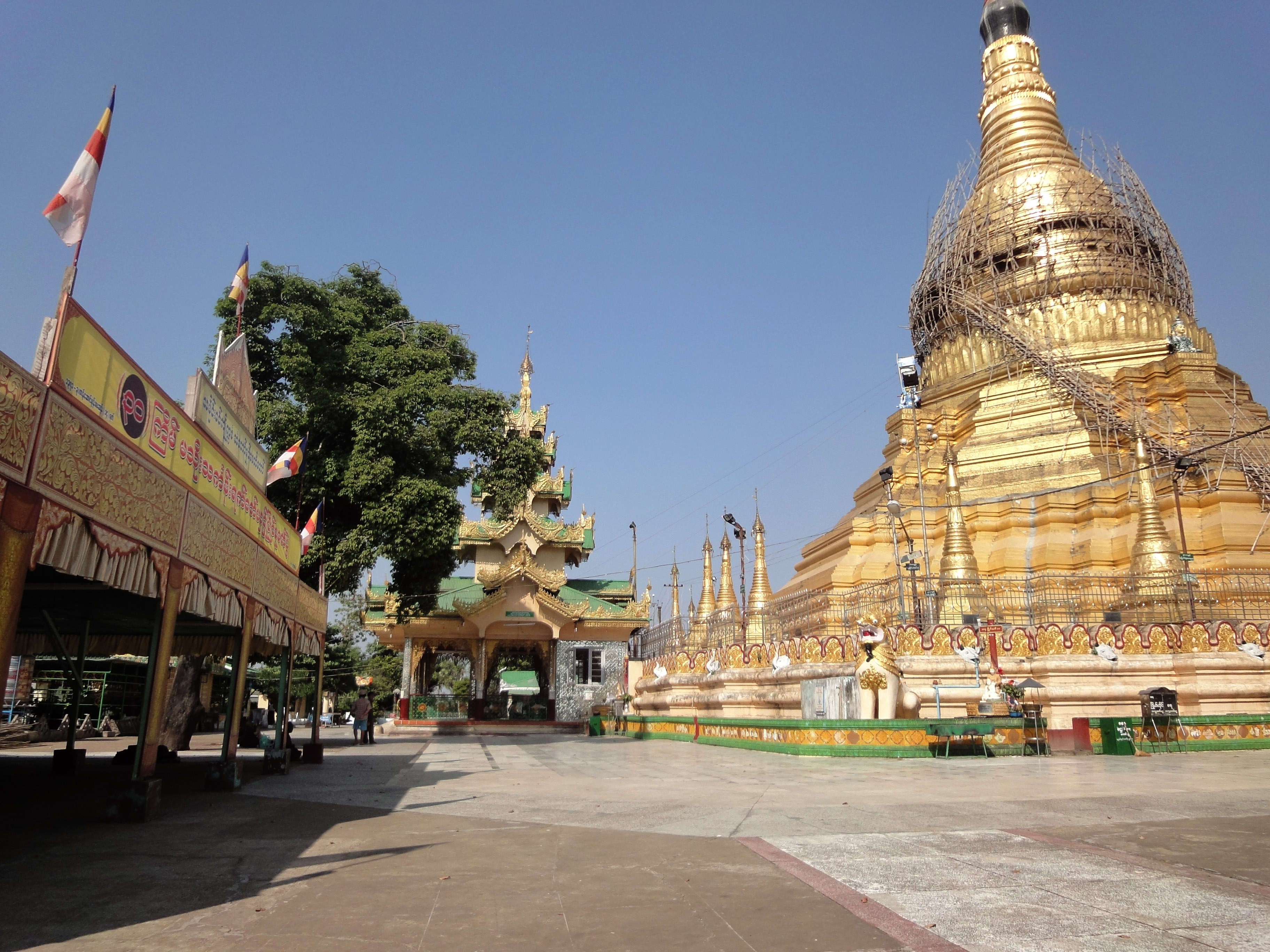 Kyaik Ka San Pagoda South Oak ka lar township Yangon Dec 2009 03