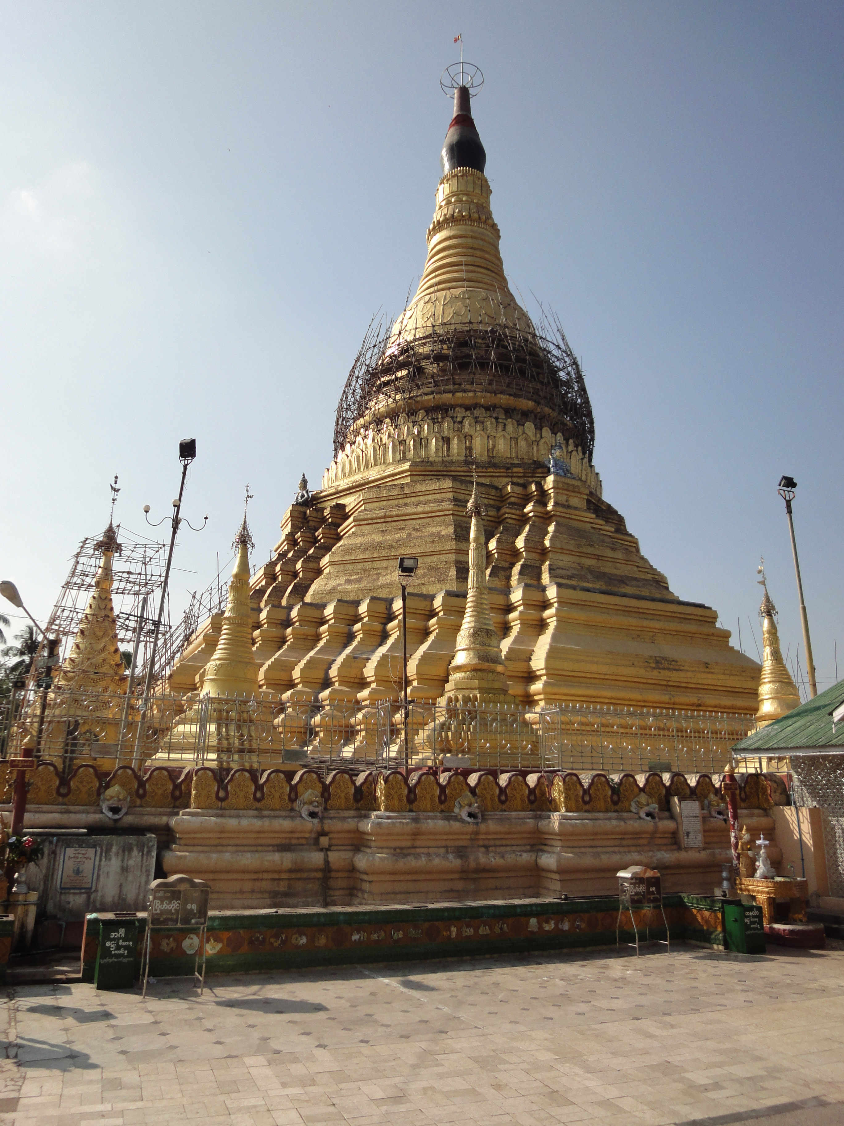 Kyaik Ka San Pagoda South Oak ka lar township Yangon Dec 2009 11