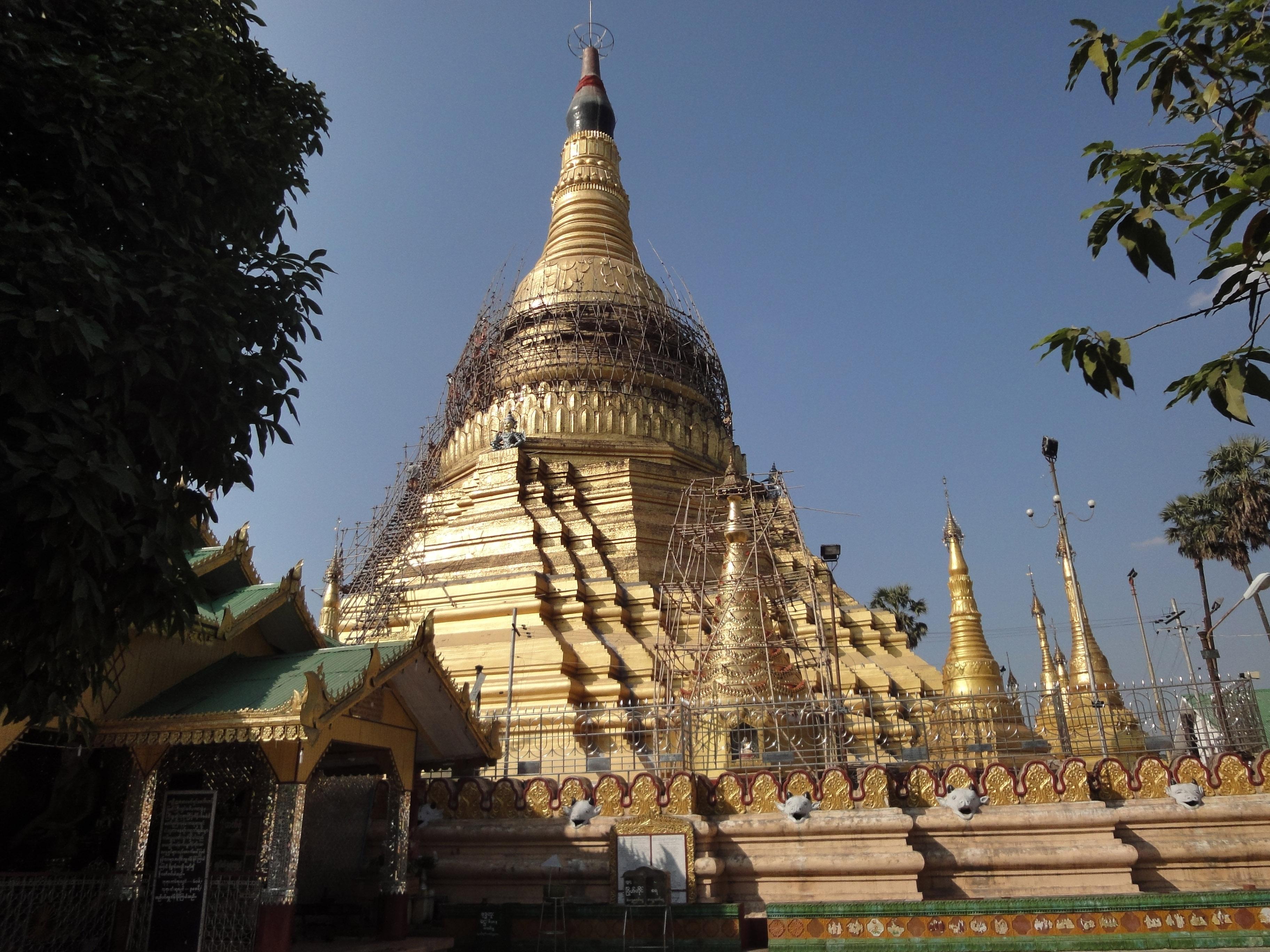 Kyaik Ka San Pagoda South Oak ka lar township Yangon Dec 2009 20