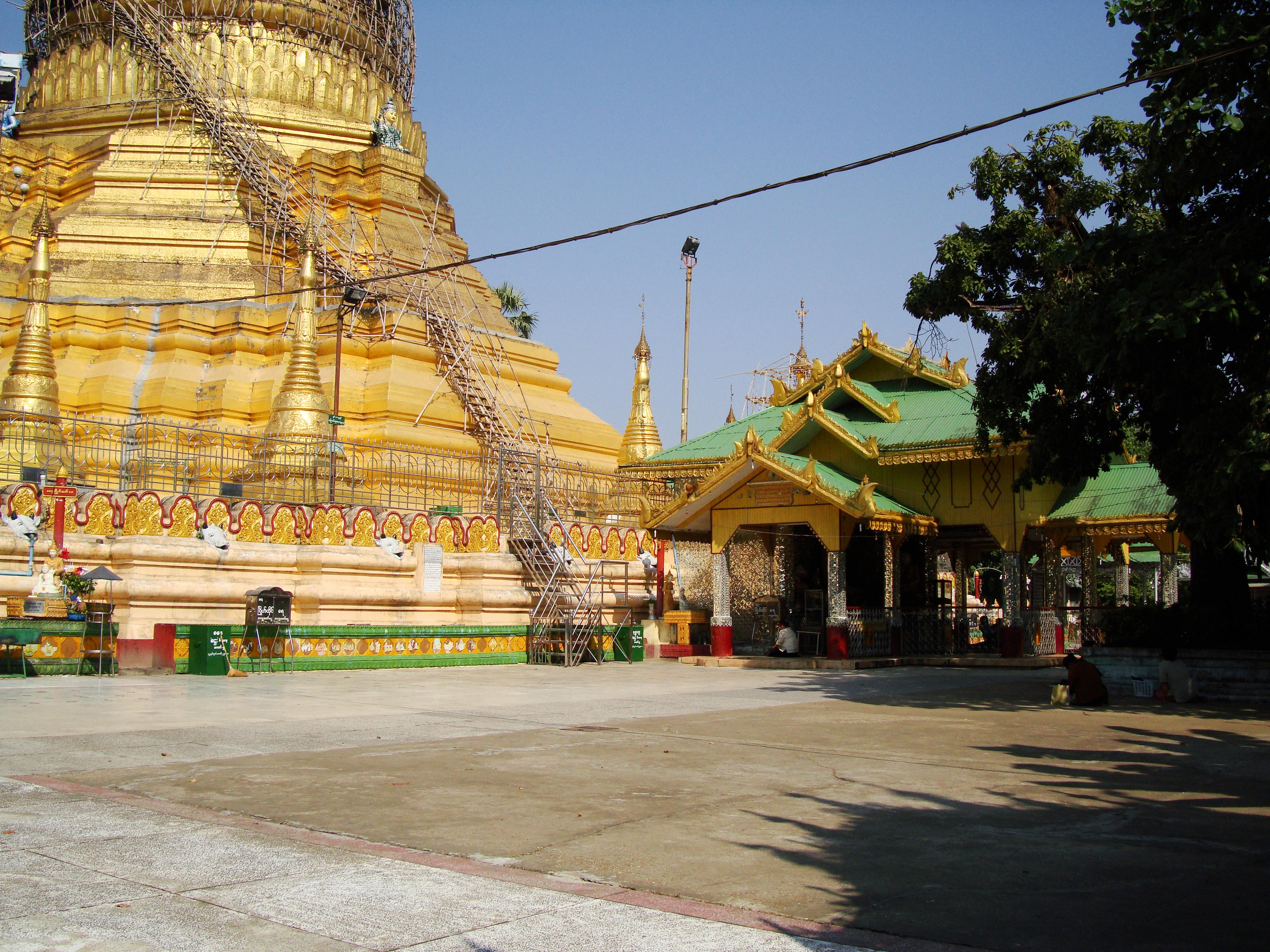 Kyaik Ka San Pagoda South Oak ka lar township Yangon Dec 2009 25