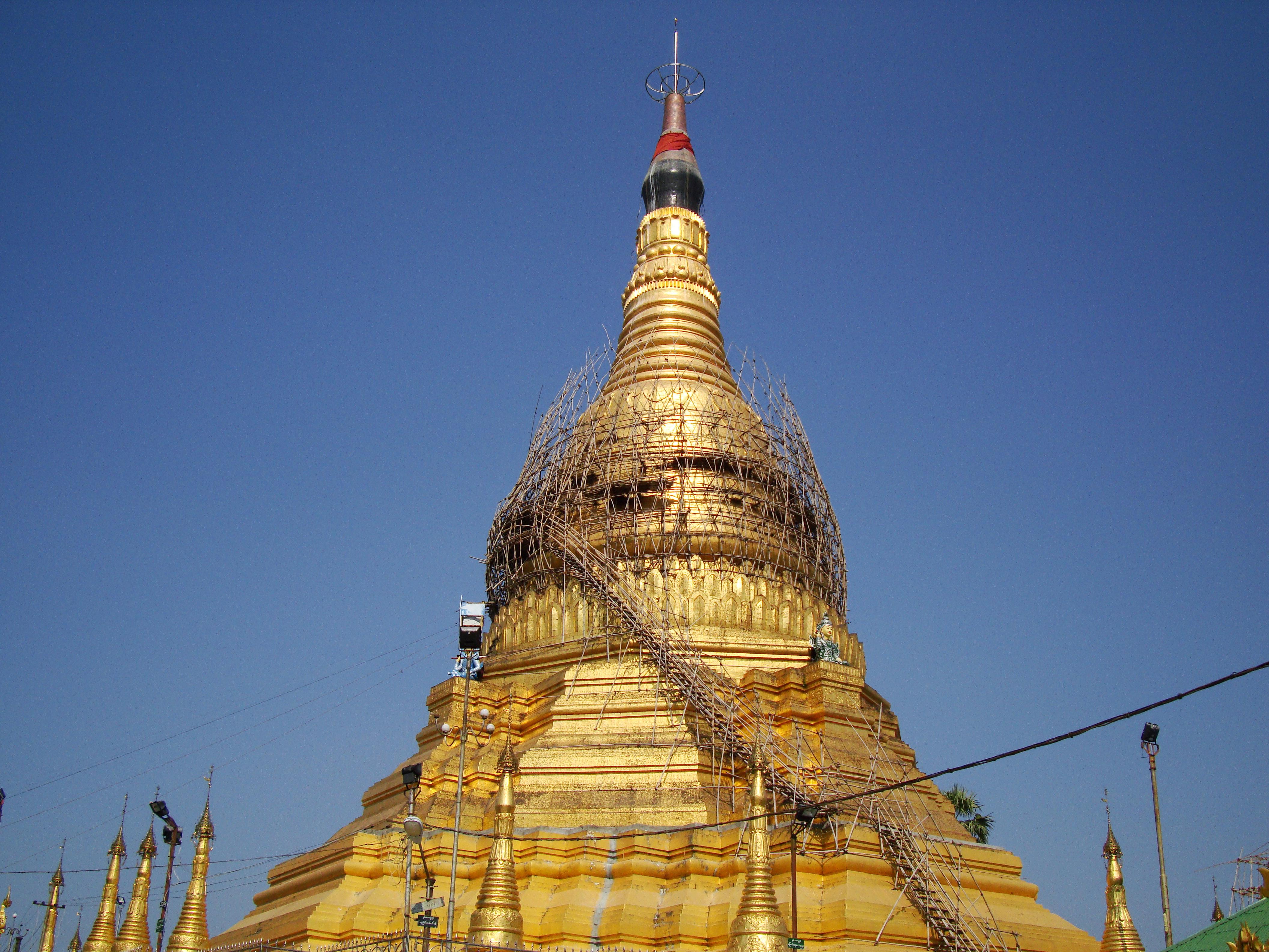 Kyaik Ka San Pagoda South Oak ka lar township Yangon Dec 2009 27
